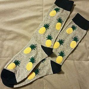 Other - Men's pineapple socks